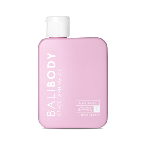 Bali Body - שמן שיזוף ענבים SPF6