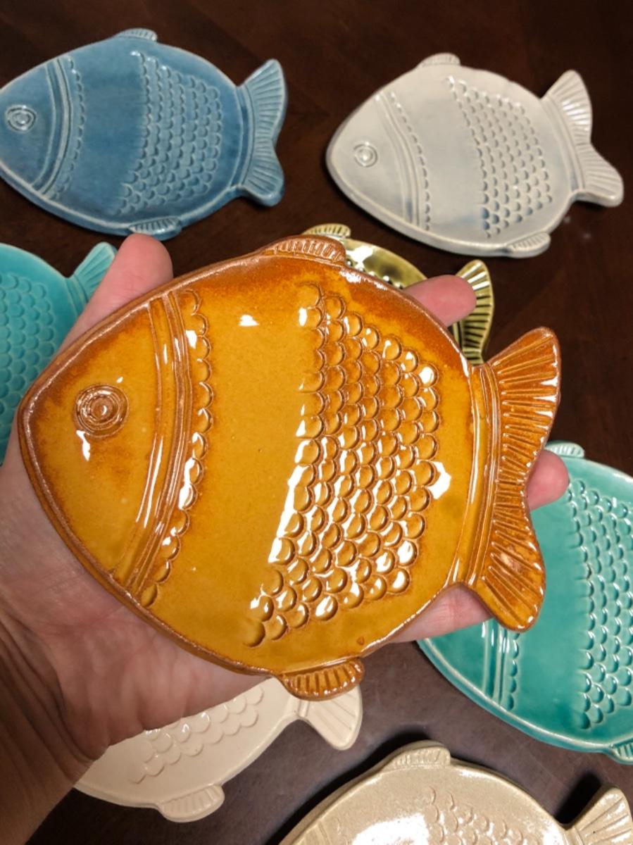 צלוחית דג