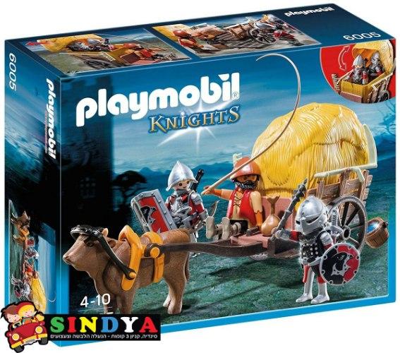פליימוביל אבירי נץ עם עגלה מוסווית  6005