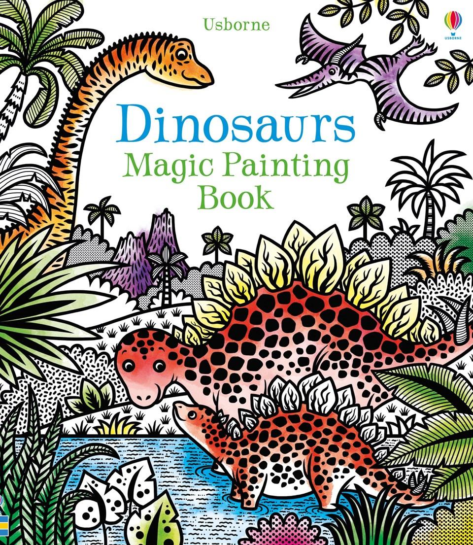 צביעת קסם - דינוזאורים