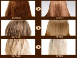 מסיכה מזינה לשיקום שיער שבור וקצוות מפוצלים