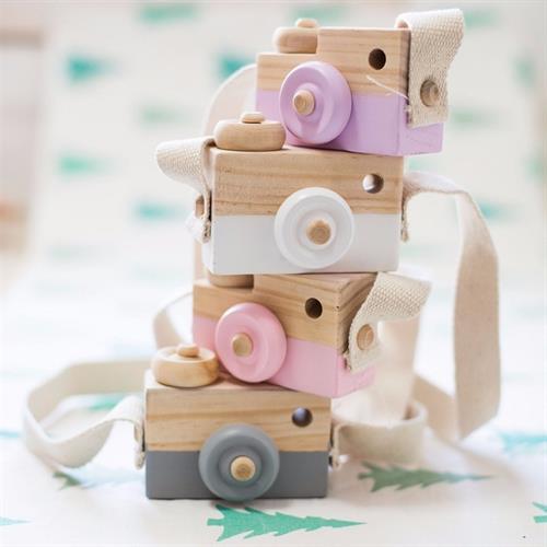 מצלמת עץ קלאסית - מגוון צבעים
