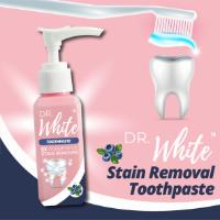 משחת שיניים להלבנת והסרת כתמים - Dr. White