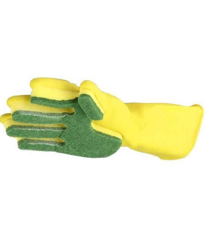 צמד כפפות ספוג לניקיון מושלם