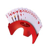 מחזיק קלפים עומד על שולחן
