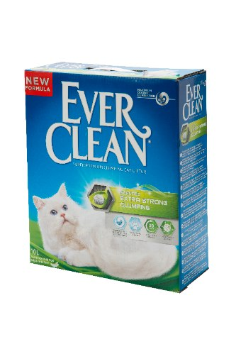 """חול מתגבש לחתולים אברקלין ירוק 10 ליטר\8.3 ק""""ג - EVER CLEAN EXTRA SCENTED 8.3 KG"""