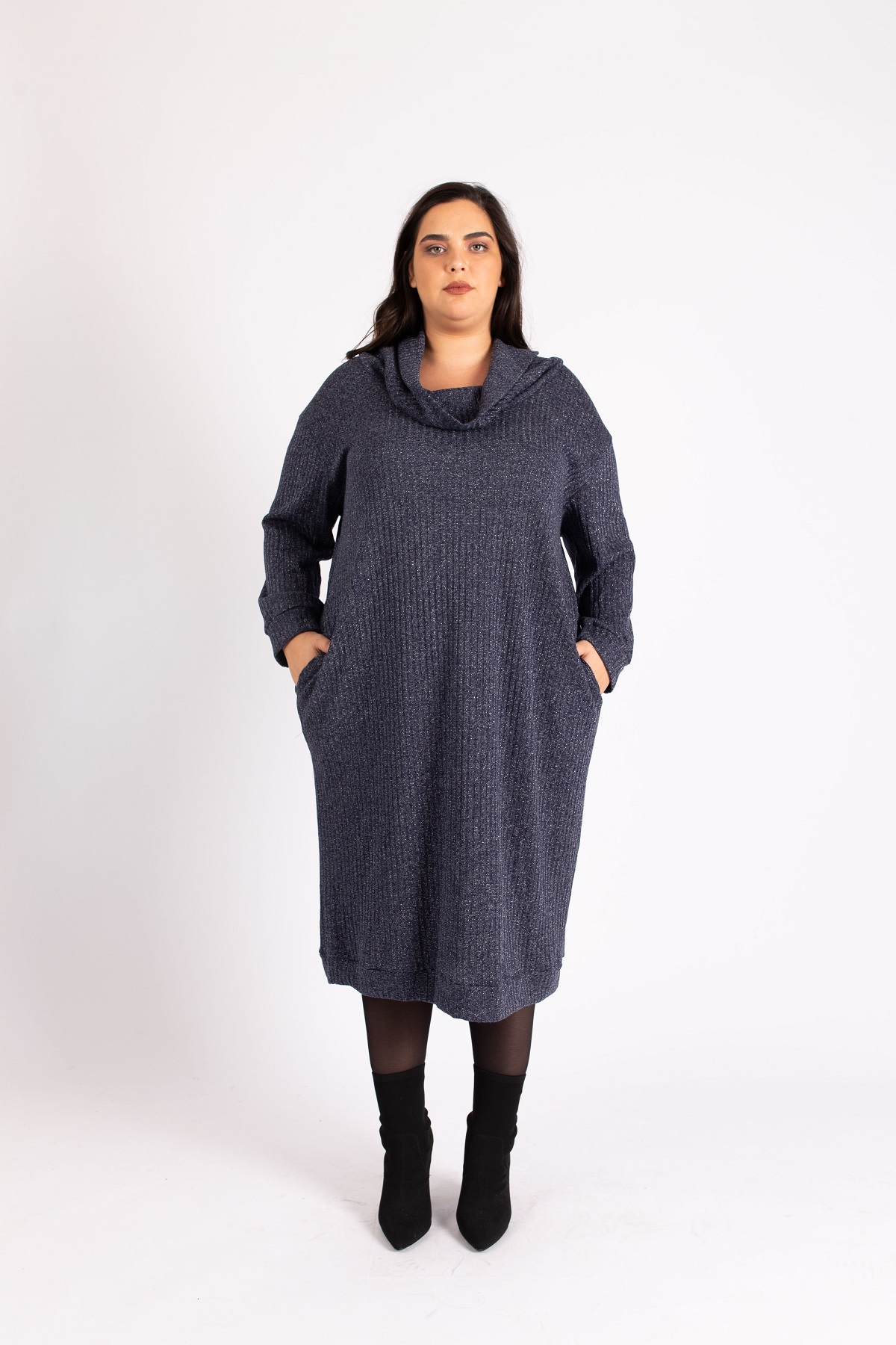 שמלת ריב גולף כחול