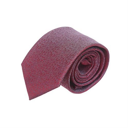 עניבה קלאסי אדום אפור
