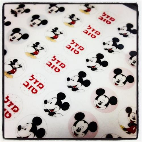 MICKEY MOUSE Transfer sheets