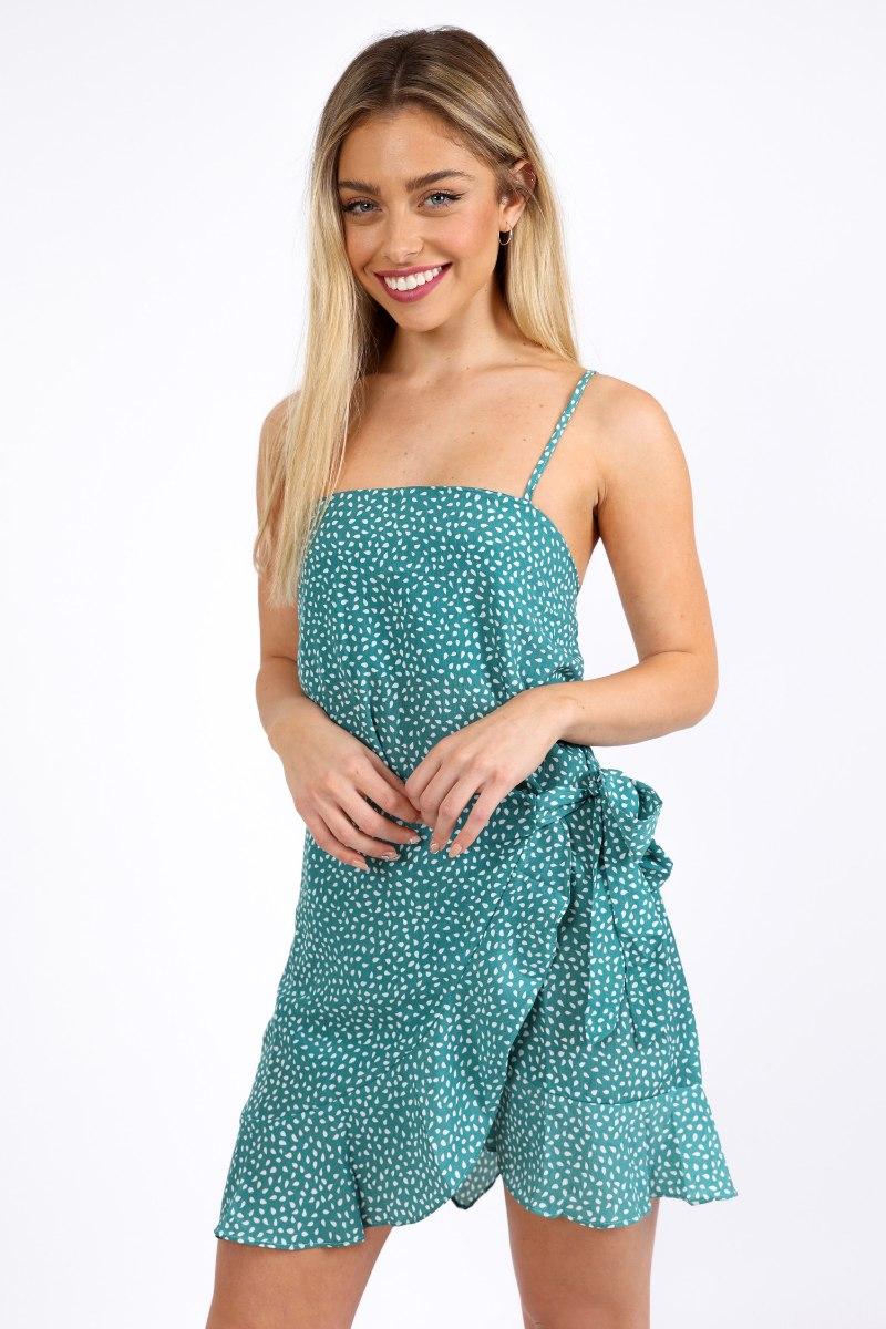 שמלת קארין ירוקה
