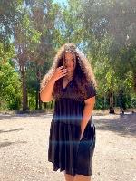 שמלת קיי אפור כהה