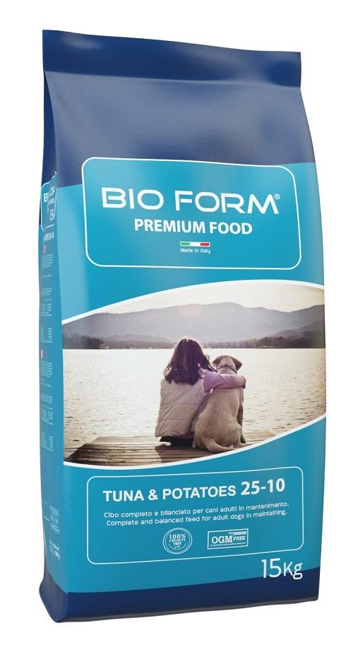 """ביו פורם טונה 6 ק""""ג מזון יבש לכלבים"""