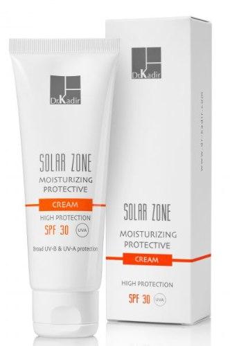 דוקטור כדיר קרם לחות עם הגנה מוגברת Dr. Kadir Solar Zone Moisturizing Protective Cream SPF30