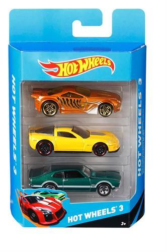 הוט ווילס מארז 3 מכוניות - Hot Wheels