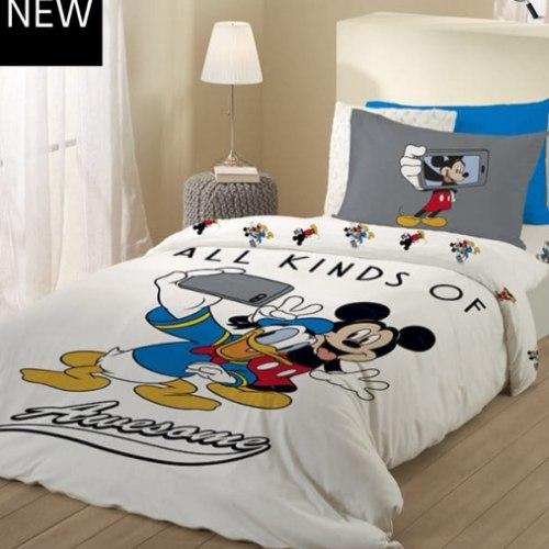 סו מלא יחיד או מיטה וחצי דגם מיקי המצחיק