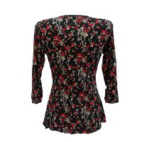 חולצת הנקה רבידה שרוול 3/4 NursingAnywear