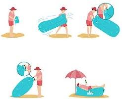 ספת ים מתנפחת Air Sofa