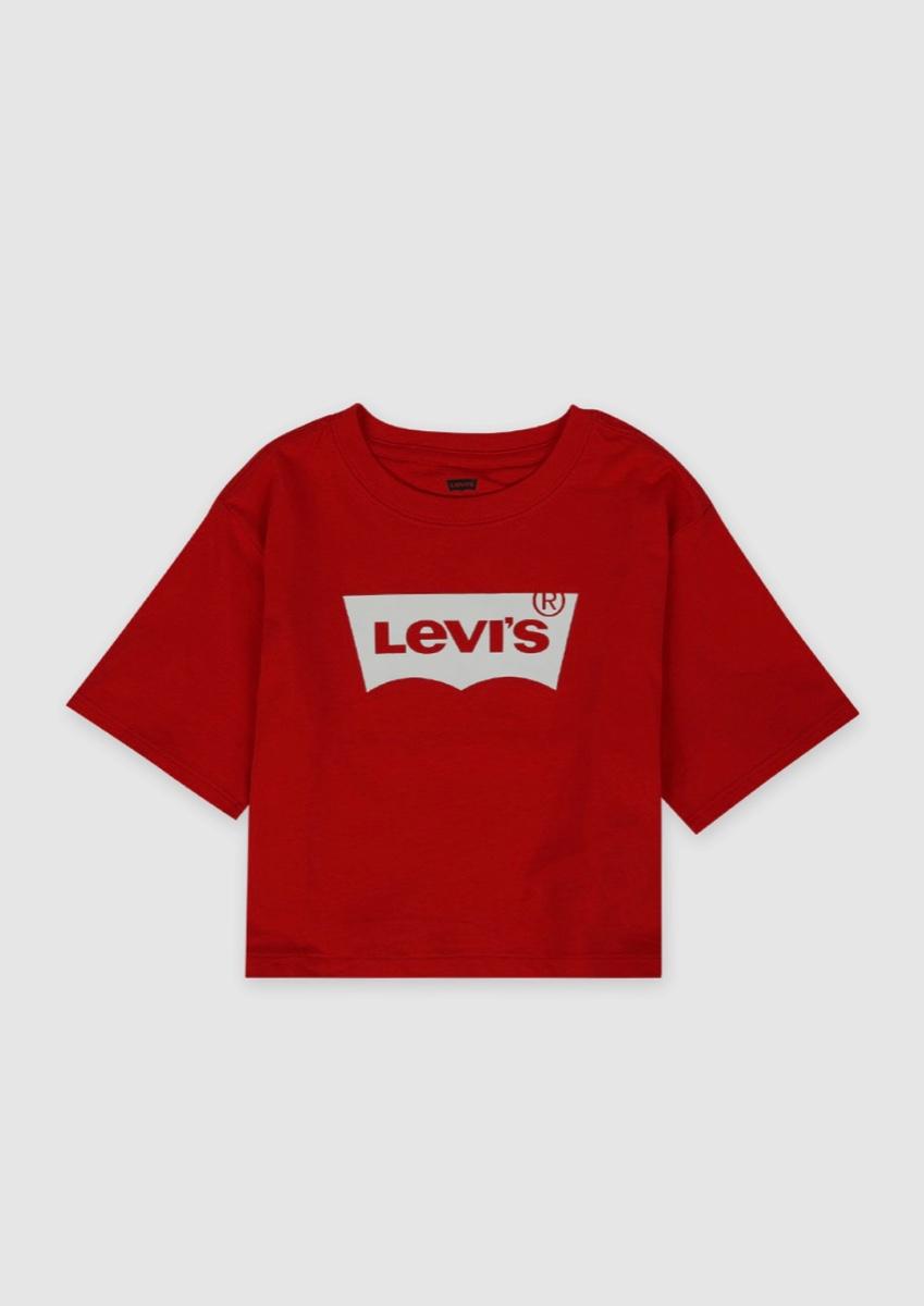 חולצה אדומה קרופ LEVIS מידות 1-7 שנים