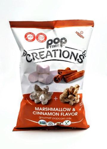 Pop Time פופקורן בטעם מרשמלו קינמון