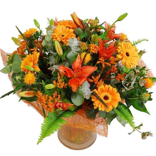 זר פרחי שמש מקט132