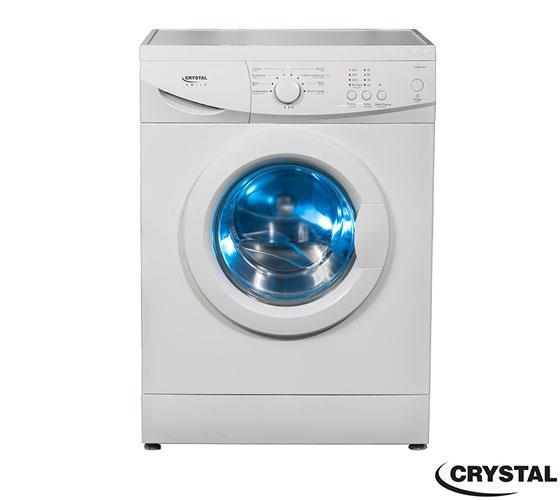 """מכונת כביסה פתח חזית 6 ק""""ג  Crystal CRM60801"""