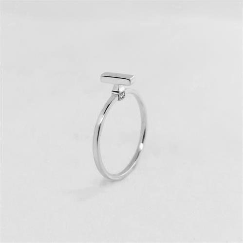 טבעת Vertical Line כסף