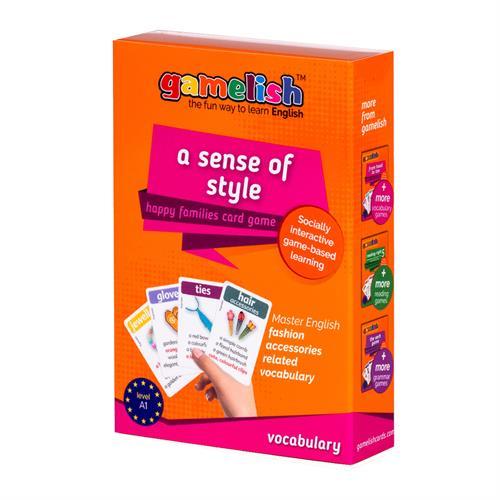 משחק רביעיות gamelish | אביזרי אופנה  a sense of style