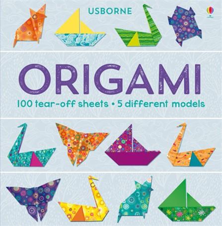 אוריגמי לילדים - 100 דף