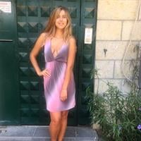 שמלה אמילי קצרה אפרסק