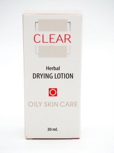 תרחיף ייבוש פצעים לעור שמן ובעייתי- אנה לוטן סדרת קליר CLEAR