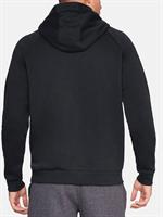 קפוצ'ון אנדר ארמור שחור לגבר 1329745-001 Under Armour Men's Rival Fleece Logo Hoodie