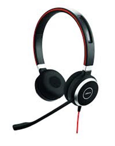 אוזניות חוטיות JABRA Evolve 40 MS Stereo ג'אברה