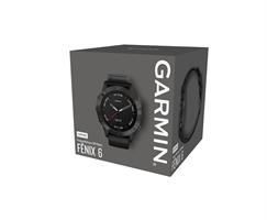 שעון דופק Garmin Fenix 6 Sapphire Gray / Black