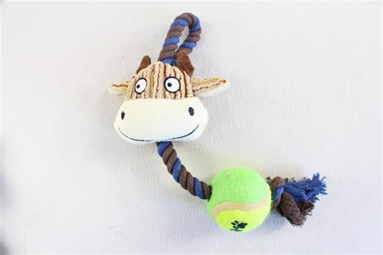 צעצוע בובה על חבל- פרה