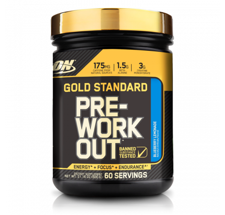 Optimum Nutrition, Gold Standard, Pre-Workout, Fruit Punch, 10.58 oz 300 g