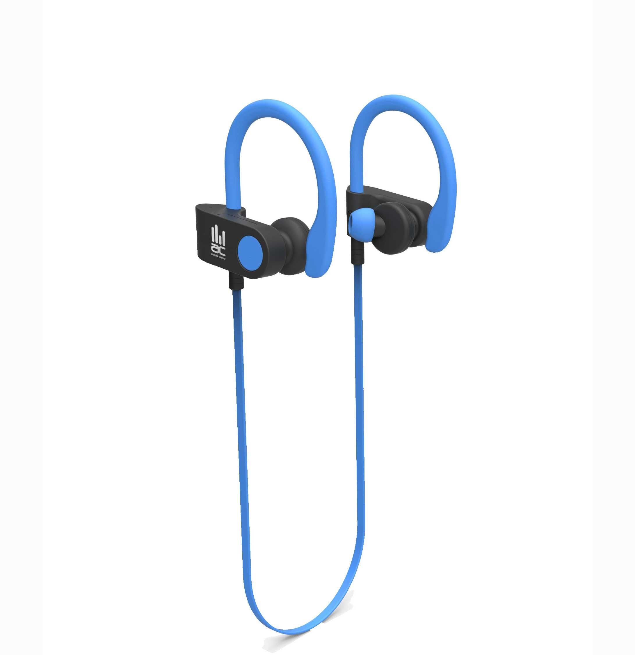 אוזניות ארגונומיות אלחוטיות AC-HP-6111BL