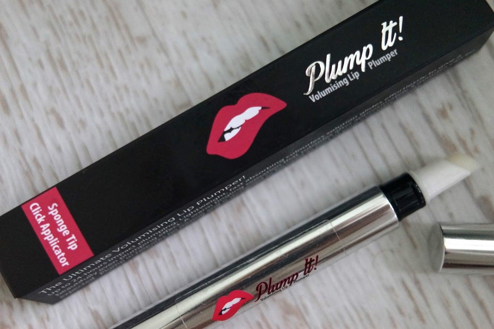 גלוס מנפח לשפתיים מושלמות - Plump it!