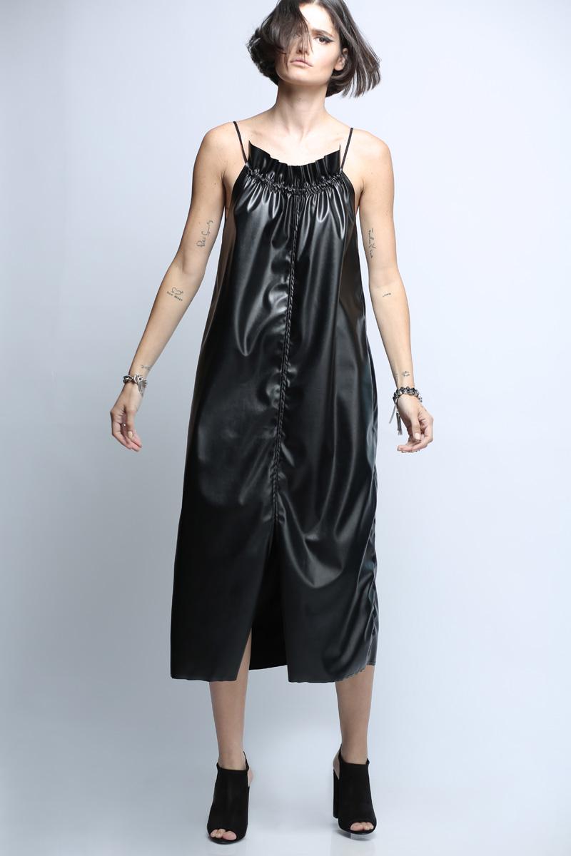 שמלת ויגן שחורה