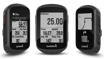 מחשב רכיבה Garmin Edge 130 HR Bundle