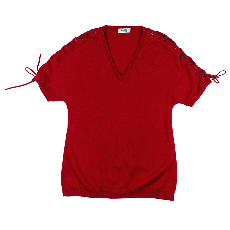 חולצת סריג MOSCHINO