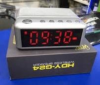 שעון מעורר דיגיטלי HDY-G24  ורוד