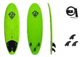 SCOTT BURKE 6 BAJA SURFBOARD