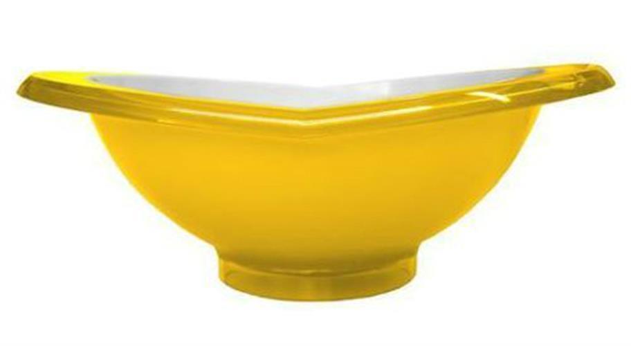 קערת סלט GLAMOUR צהוב