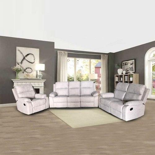 ספה 1+2+3 מושבים סיאסטה בד אפור