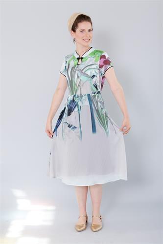 שמלת סיקה תכלת