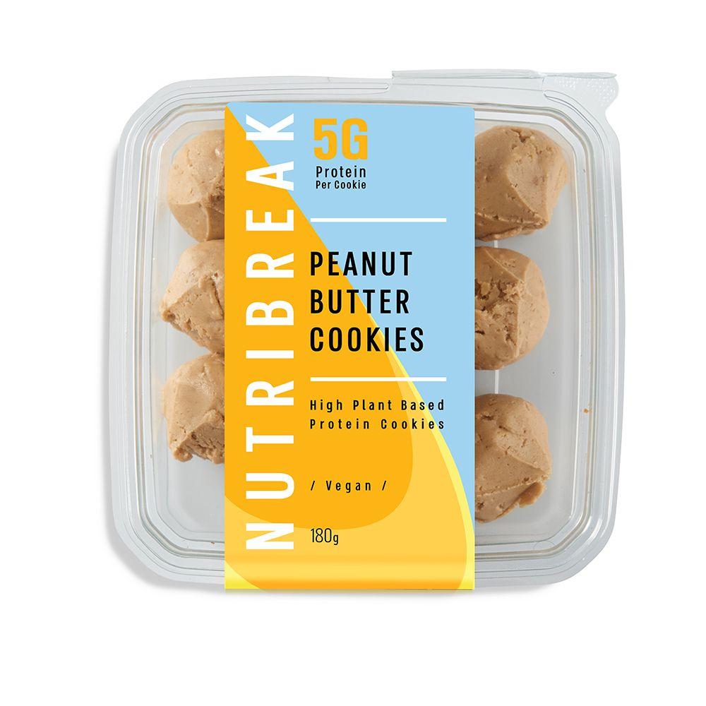 עוגיות חלבון חמאת בוטנים