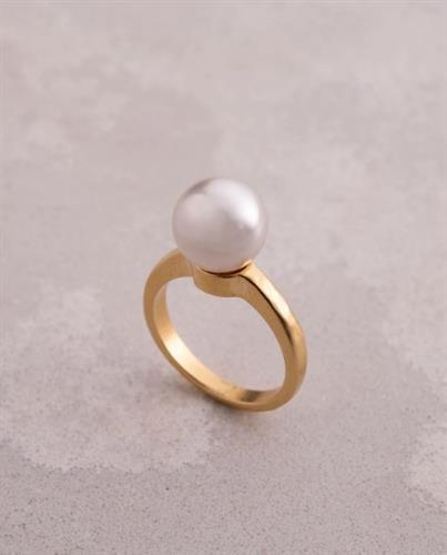 טבעת אקו - פנינה גדולה