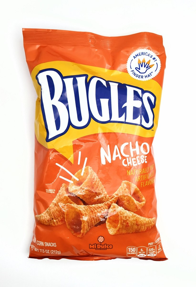 Bugles Nacho Cheese מארז ענק!