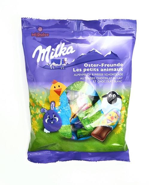 מילקה שוקולד דמויות