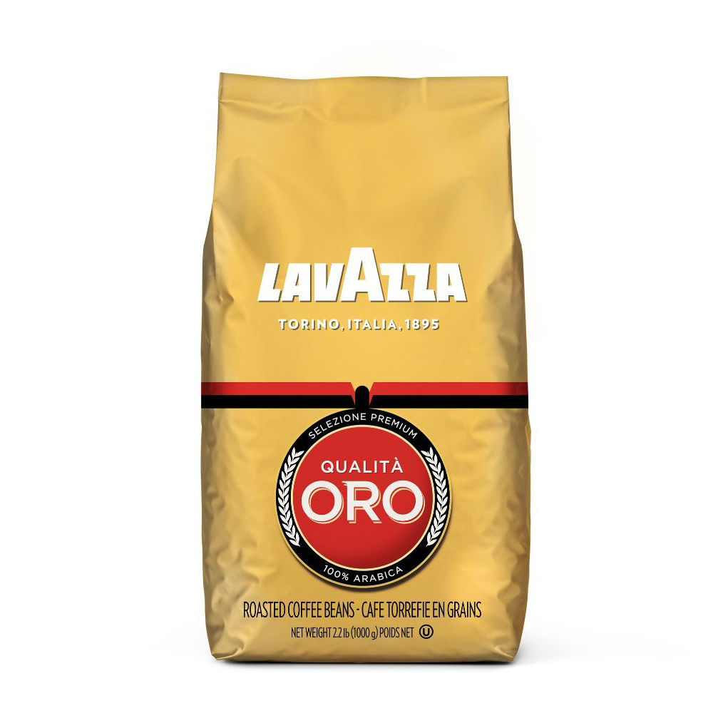"1 ק""ג פולי קפה לוואצה אורו Lavazza Qualita Oro Coffee Beans"